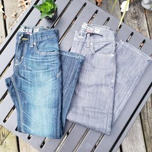 TWO pair of Denizen by Levi's Boys Jeans